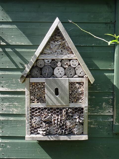 Bienenhotel der Luxusklasse